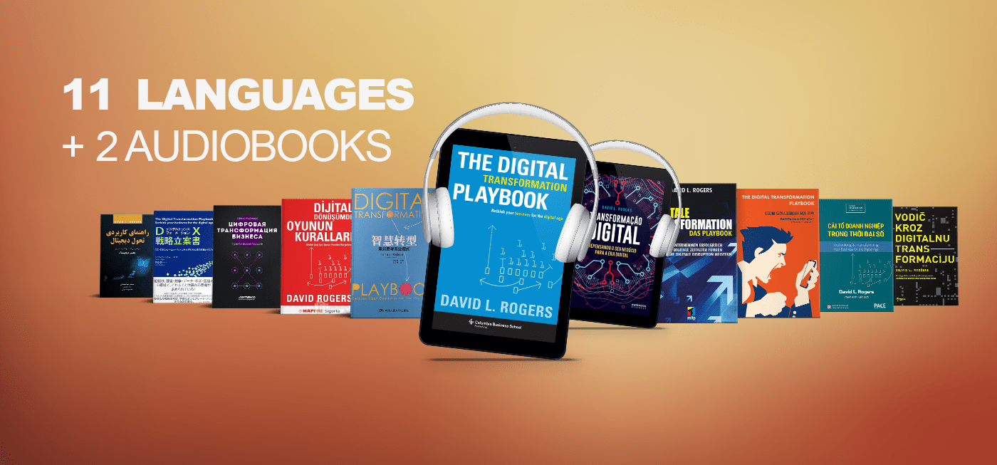 """In 11 Languages + 2 Audiobooks: """"The Digital Transformation Playbook"""""""