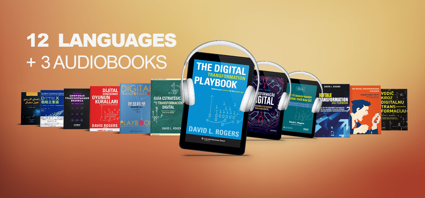 """In 12 Languages + 3 Audiobooks: """"The Digital Transformation Playbook"""""""